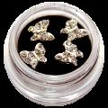Bijoux d'ongle à coller - Papillons