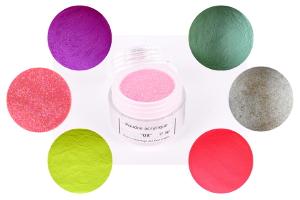 BANNIERE poudre acrylique de couleur pour faux ongles