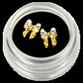 Bijoux d'ongle à coller ou à incruster dans le gel UV - Noeuds 6